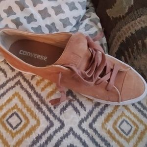 Blush pink converse